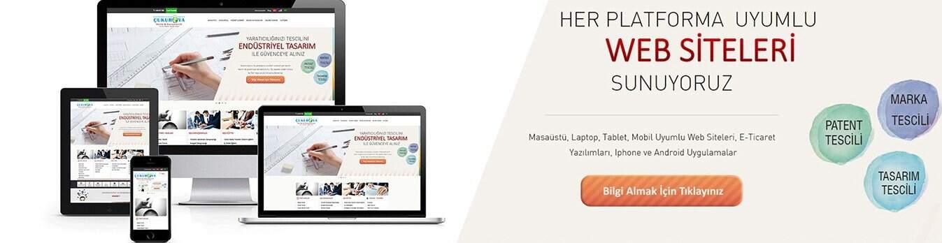 Tüm Platformlara Uyumlu Web Siteleri